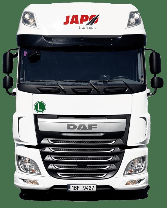 Kamión značky DAF
